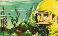 il mondo del futuro figurina 176 figurine lampo 1959 figurines lampo stickers gq
