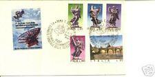 B04 ITALIA 1975 BUSTA COM 7a GIORNATA TELECOMUNICAZIONI