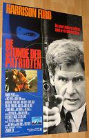 """Die Stunde der Patrioten """"Patriot Games"""" Filmplakat / Poster A1 ca 60x84cm"""