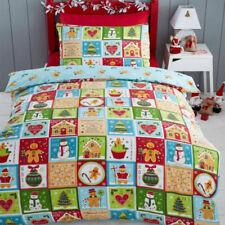 Parures et housses de couette Noël à motif Fantaisie pour chambre à coucher