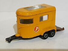 Matchbox Lesney Superfast - Pony Trailer - Made in England