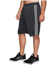 ADIDAS Fran 3S Climalite Training Shorts - Men's 4XL / XXXXL (Gray) NWT