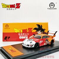 TimeMicro 1:64  Porsche RWB 993  Z GOKU Diecast Model Car