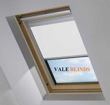 BLACKOUT SKYLIGHT BLINDS FOR VELUX WINDOWS EVERY SIZE & COLOUR (VALE MODEL)