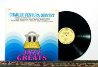 Charlie Ventura Quintet - 1976 LP - Traditional Jazz, Dave McKenna - NM Vinyl