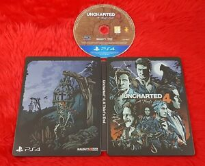 ps4 UNCHARTED 4 A Thief's End *x Steelbook Edition REGION FREE PAL UK Version