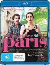 We'll Never Have Paris  - BLU-RAY - NEW Region B