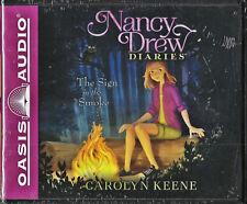 NEW Nancy Drew Diaries The Sign in the Smoke Carolyn Keene Audio Book 12 CD Vol