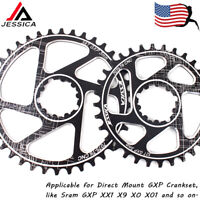 US GXP Direct Mount 3mm 32-8T Narrow Wide Chainring MTB Bike Chainwheel Sprocket