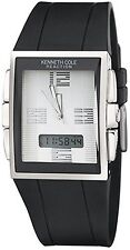 Kenneth Cole New York KC1375 Rectangular Analog & Digital Reaction Watch