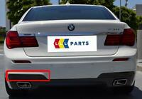 BMW 7 NEW GENUINE F01 F02 REAR M SPORT BUMPER BLACK N/S LEFT MOULDING 8048495