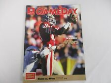 OCT 5 1987 NEW YORK GIANTS vs SAN FRANCISCO 49ERS GAME DAY PROGRAM w JERRY RICE