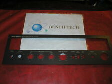Vector Research Model VR-5000  Face Plate With Hardware