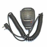 Radio Altoparlante Microfono Manuale Walkie Talkie per Baofeng BF-888S UV5R H21
