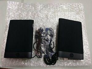 HP 636917-001 WH-204B USB Powered Flat Speakers