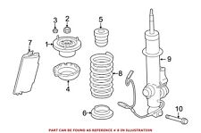 For BMW Genuine Coil Spring Rear 33536786658