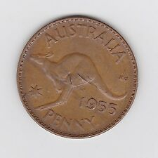 1955M 'LAMINATE FLAW - BOTH SIDES' ERROR ELIZII PENNY - VERY NICE ERROR COIN