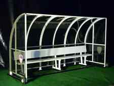 8ft European Team Shelter | Covered Team Benches