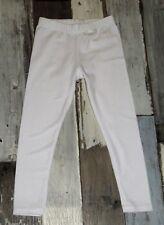 ~ Pantalon / Legging blanc Fille 4 ans comme neuf - 98 à 104cm ~ STE01