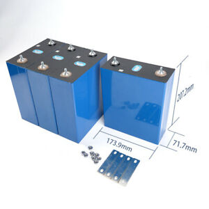 2 PCS LiFePO4 Battery 3.2V 280Ah Prismatic Cells Stock in Houston/Ship Next Day
