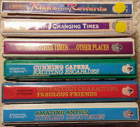 lot of 6 Adventures in Odyssey sets (6 cassettes each) Risks Rewards Changing +