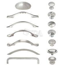 Bon Satin Nickel / Brushed Nickel Kitchen Cabinet Drawer Pull Handles Knobs  Hardware