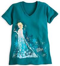 Disney Store Frozen Elsa Women T-Shirt Size X Large New