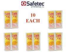 Safetec Sunscreen Lotion SPF30, Lotion Packets (LOT OF 10 EACH)