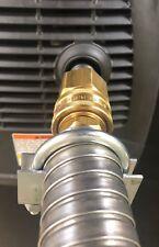 """Honda EU2000i Generator 1-1/2"""" quick disconnect steel exhaust extension (2 foot)"""