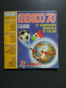 ALBUM CALCIATORI PANINI MEXICO 70 ,WORLD CUP 70  EMPTY ,VUOTO