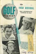 Patty Berg signed 1958 Golf Digest magazine 1918-2006