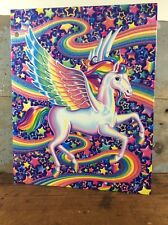 Lisa Frank Folder SKYE Pegasus 2 Pocket Prong Folder Stars Rainbow Colorful NEW