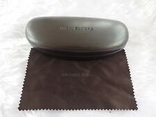 Used - Michael Kors brown glasses / sunglasses case & cloth- proceeds to charity