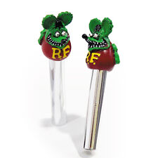 RAT FINK, ED ROTH GREEN LOCK PULLS BY MOONEYES (x2) Hot Rod, Custom
