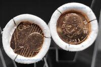 BELGIUM 1 EURO CENT 2013 COMPLETE BU MINT ROLL 50 COINS NEW UNC Belgique G427