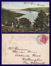 UK SCOTLAND ARGYLL & BUTE COLINTRAIVE 1906 MRS CAMERON, WELLINGTON, NEW ZEALAND