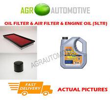OIL AIR FILTER KIT + LL 5W30 OIL FOR SUBARU LEGACY 2.0 125 BHP 1998-03