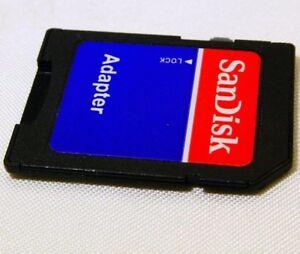 SanDisk SD digital camera memory card adapter micro - worldwide