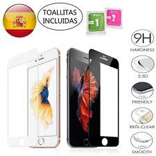 PROTECTOR COMPLETO PANTALLA DE CRISTAL TEMPLADO PARA IPHONE 6 7 8 G S o Plus