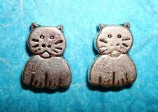 Cat Spacer Beads Charms Cat Charms Feline Charm Animals Jewelry Findings Beads