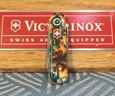 RARE Limited Edition Victorinox Swiss Army Classic SD Knife Smokey The Bear