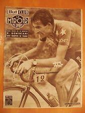 But & Club.Miroir des Sports 410 - 22/6/1953-R.Geminiani sera champion de France