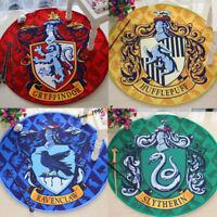 Harry Potter Hogwarts Emblem Square Floor Mat Rug Large