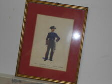 Vtg. Italian Military Museum 1883 Appuntato a P. Uniforme OrdinariaFramed Print