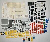 Vintage Legos Lego Pieces Lot Blocks Bricks Minifigures Figures Black White Red