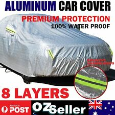 Car Covers Waterproof Aluminum Material Outdoor Rain Dust ScratchProof Premium