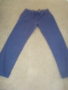 POLO RALPH LAUREN NAVY BLUE LOUNGE/SWEAT PANTS SIZE L