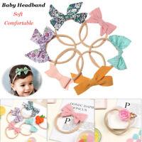 Lovely Floral Elastic Nylon Hairband Hair Accessories Baby Headband Hair rope