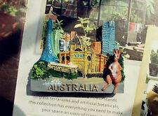 Australien Melbourne Känguru Reiseandenken Souvenir 3D Kühlschrankmagnet Magnet