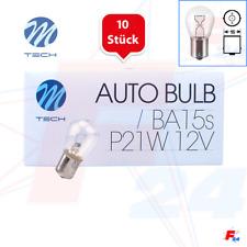 10 x Tecnología M P21W 12v Bombillas Intermitente Trasero RENAULT CLIO LAGUNA